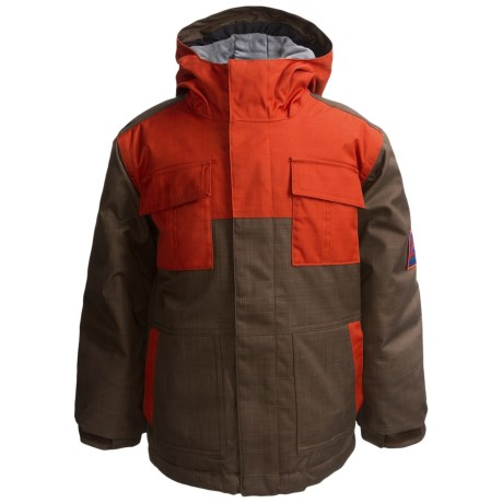 Bonfire Patrol Jacket - Insulated (For Boys) in Bison