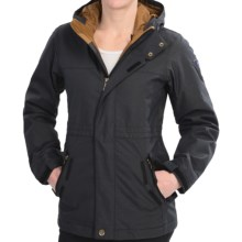 Bonfire Remy Snowboard Jacket - Tailored Fit, Insulated (For Women) in Black/Black - Closeouts