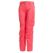 Bonfire Safari Snowboard Pants - Waterproof (For Women) in Tango - Closeouts