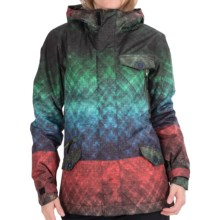 Bonfire Teddy Snowboard Jacket - Waterproof, Insulated (For Women) in Green Eqt - Closeouts