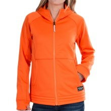 Bonfire Tundra Fleece Jacket - Hooded (For Women) in Apricot - Closeouts
