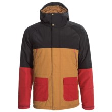 Bonfire Wilco Snowboard Jacket - Waterproof, Insulated (For Men) in Black - Closeouts
