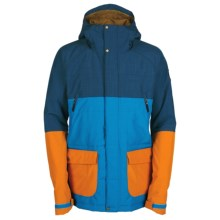 Bonfire Wilco Snowboard Jacket - Waterproof, Insulated (For Men) in Midnight - Closeouts