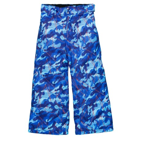 Boomer Shredder Snow Pants - Waterproof, Insulated (For Boys) - NAVY AOP (3 )