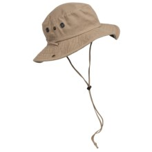 Boonie Sun Hat - UPF 50+ (For Men and Women) in Camel - Closeouts