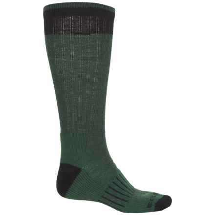 Boot Socks - Mid Calf (For Men) in Evergreen - Overstock
