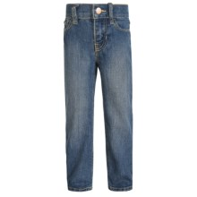 Bootcut Jeans - Slim Fit (For Little & Big Girls) in Stone Blue - 2nds
