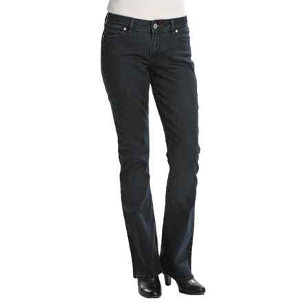 Bootheel Trading Co. Kennett Jeans - Flared Leg, Stretch (For Women) in Dark Wash - Closeouts