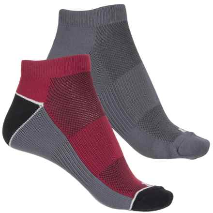 Bootights Color-Block Socks - 2-Pack, Ankle (For Women) in Black - Closeouts