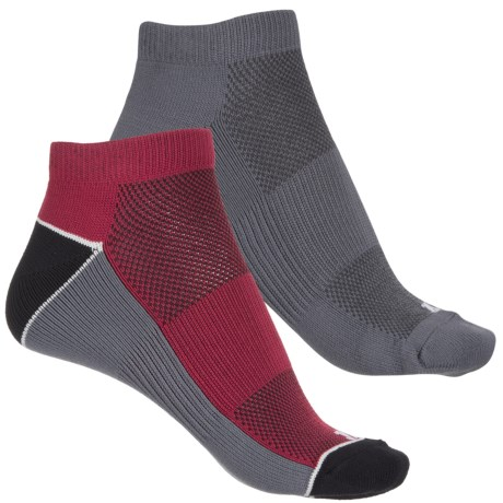 Bootights Color-Block Socks - 2-Pack, Ankle (For Women) in Black