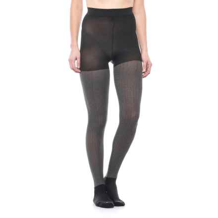 Bootights Draper Boot Sock Tights (For Women) in Jet/Heather - Closeouts