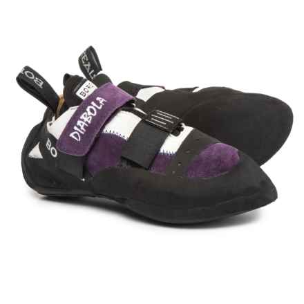 Boreal Diabola Climbing Shoes - Leather (For Women) in Purple - Closeouts