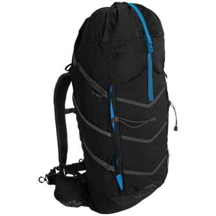 Boreas Buttermilks Backpack - 55L, Internal Frame in Farallon Black - Closeouts