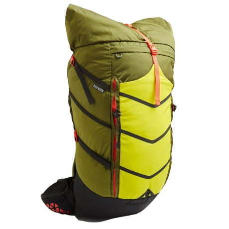 Boreas Buttermilks Backpack - 55L, Internal Frame in Truckee Green