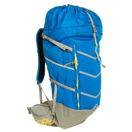 Boreas Buttermilks Backpack - Internal Frame, 40L in Marina Blue