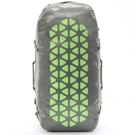 Boreas Erawan 70L Duffel Backpack in Monterey Grey