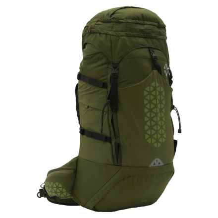 Boreas Halo 65L Backpack - Internal Frame in Halo Green - Closeouts