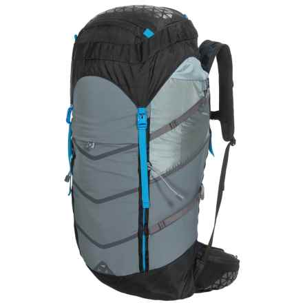 Boreas Lost Coast Backpack - Internal Frame, 45L in Farallon Black - Closeouts