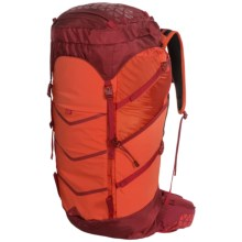 Boreas Lost Coast Backpack - Internal Frame, 45L in Golden Gate Red - Closeouts