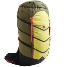 Boreas Lost Coast Backpack - Internal Frame, 45L in Truckee Green - Closeouts