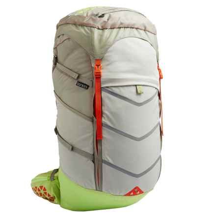 Boreas Lost Coast Backpack - Internal Frame, 60L (For Women) in Monterey Grey - Closeouts