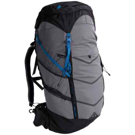 Boreas Lost Coast Backpack - Internal Frame, 60L in Farallon Black - Closeouts