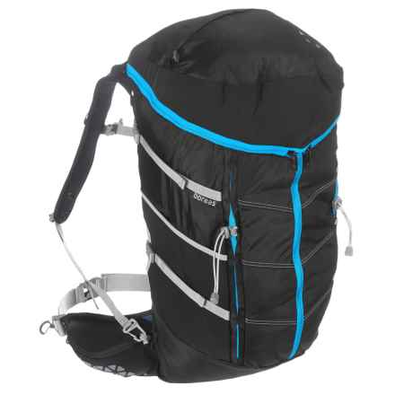 Boreas Sapa Trek Travel Backpack - 55L in Farallon Black - Closeouts