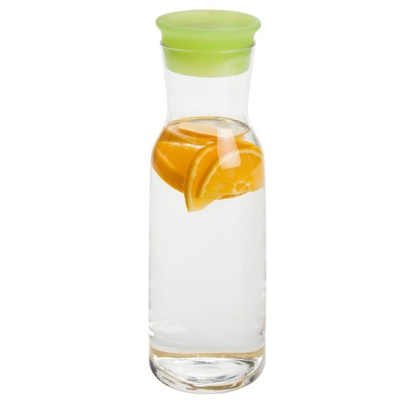 Bormioli Rocco Aquaria Glass Carafe - BPA-Free in Green / Clear