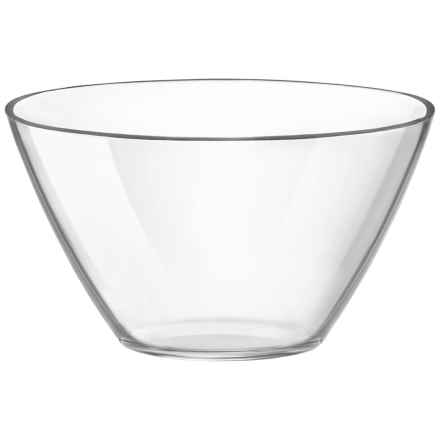 """Bormioli Rocco Basic Glass Bowl - 6.75"""" in Clear - Overstock"""