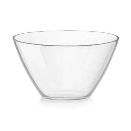 "Bormioli Rocco Basic Glass Bowl - 7.75"" in Clear - Overstock"
