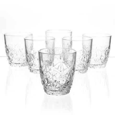 Bormioli Rocco Dedalo Double Old-Fashioned Glasses - Set of 6 in Clear - Closeouts