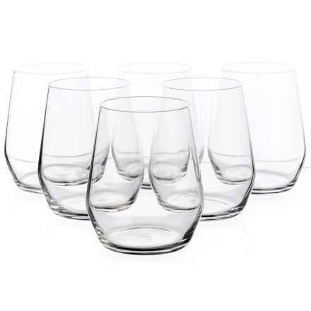 Bormioli Rocco Electra Stemless Glasses - 12.75 fl.oz., Set of 6 in See Photo - Closeouts
