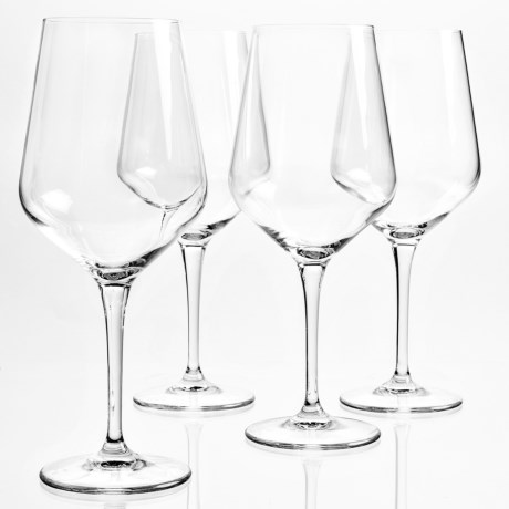 Bormioli Rocco Electra XLT Large Wine Glasses - 18.5 fl.oz., Set of 4 in Clear