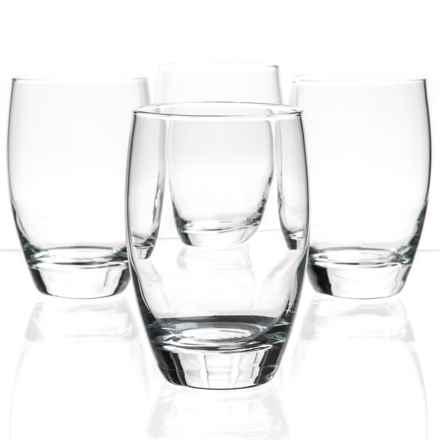 Bormioli Rocco Essenza Cooler Glasses - Set of 4 in Clear - Closeouts