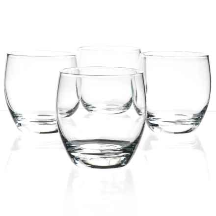Bormioli Rocco Essenza Double Old-Fashioned Glasses - Set of 4 in Clear - Closeouts