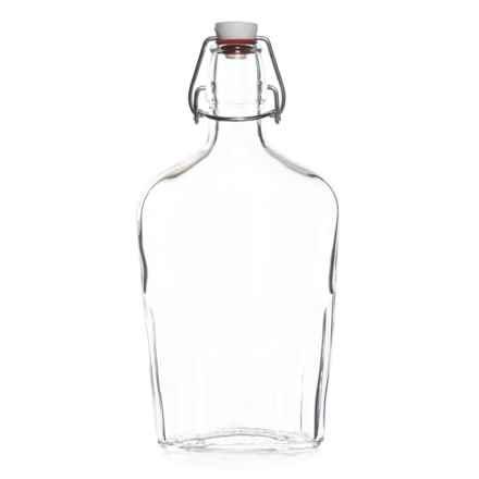 Bormioli Rocco Fiaschetta Pocket Flask - 17 fl.oz. in Clear - Closeouts
