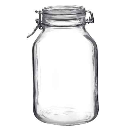 Bormioli Rocco Fido Jar - 135 fl.oz. in Clear - Closeouts