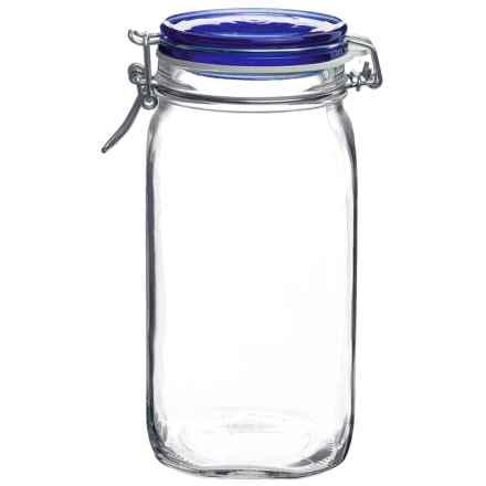Bormioli Rocco Fido Jar - 1.5L in Blue - Overstock