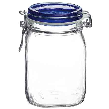 Bormioli Rocco Fido Jar - 1L in Blue - Overstock