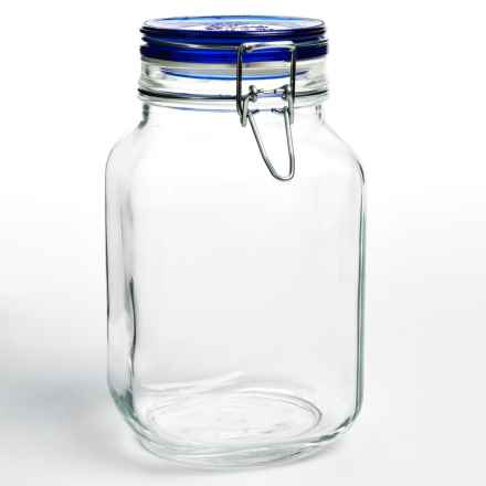 Bormioli Rocco Fido Jar - 67.75 fl.oz. in Blue - Overstock