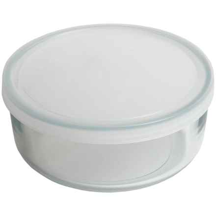 Bormioli Rocco Frigoverre Food Storage Container - 10.25 oz. Glass, Round in Frost / Clear - Overstock