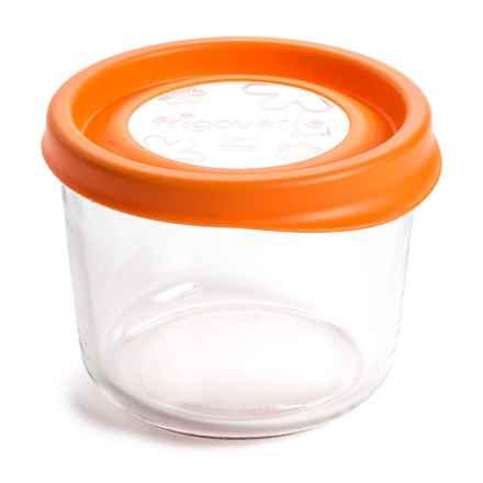 Bormioli Rocco Frigoverre Fun Food Container - 23.75 oz. in Orange - Closeouts