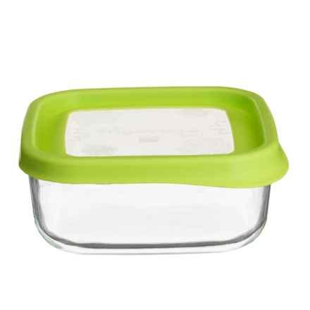 Bormioli Rocco Frigoverre Fun Glass Food Storage Container - 25.5 oz. in Green - Closeouts