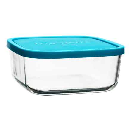 Bormioli Rocco Frigoverre Glass Storage Container - 54 oz. in Teal - Closeouts