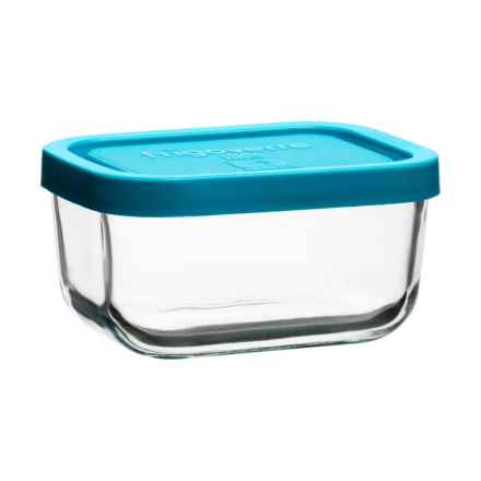 Bormioli Rocco Frigoverre Small Glass Storage Container - 5 oz. in Teal - Closeouts