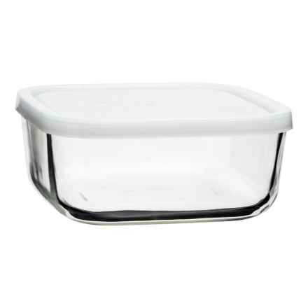 Bormioli Rocco Frigoverre Square Food Storage with Lid - 25.25 oz., Glass in Frosted - Closeouts