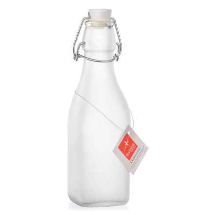 Bormioli Rocco Frosted Swing Bottle - 8.5 oz. in Clear - Overstock