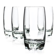 Bormioli Rocco Galassia Beverage Glasses - 13.75 fl.oz., Set of 4 in Clear - Closeouts