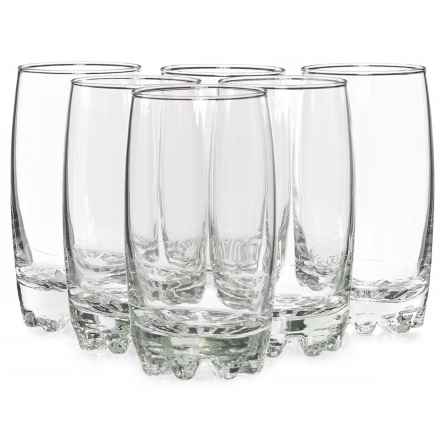 Bormioli Rocco Galassia Beverage Glasses - 14 fl.oz., Set of 6 in Clear - Closeouts