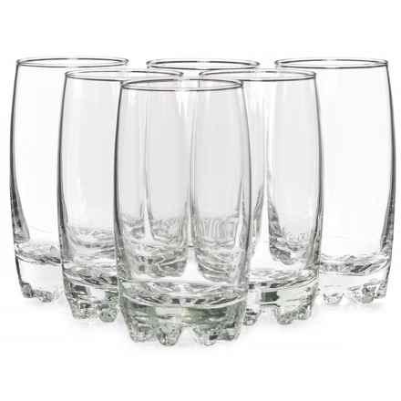 Bormioli Rocco Galassia Beverage Glasses - 14 fl.oz., Set of 6 in Clear - Closeouts